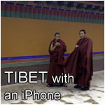 Tibet with an iPhone