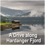 A Drive along Hardanger Fjord