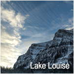 Lake Louise with a Hassy