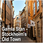 Gamla Stan - Stockholm's Old Town