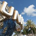 Outside of Universal Studios, Florida