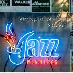 Jazz Fest Signage